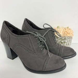 MOSSIMO ANKLE GRAY SHOES SIZE 10